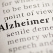 Alzheimer — Stock Photo #33252705