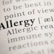 Allergy — Stock Photo #33252723
