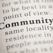 Stock Photo: Community