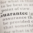 Guarantee — Foto de Stock