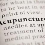 Acupuncture — Stock Photo #33253815