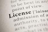 License — Stock Photo