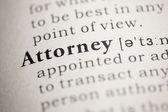 Attorney — Stock Photo