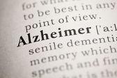 Alzheimer — Stock Photo