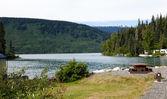 Meziadin Lake — Stock Photo