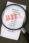 Bills — Stock Photo