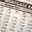 Newspaper Mortgage Rate — Photo
