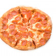 Cheese and sausage Pizza — Stock Photo #34769419