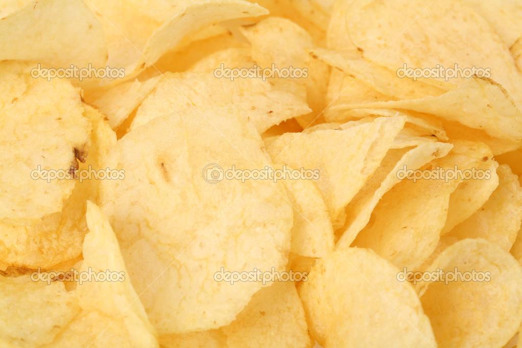 Potato Chips Images Potato Chips Close up Shot