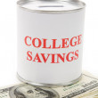 College Savings — Stock Photo