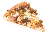 Kaas pizza — Stockfoto