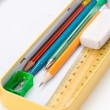Metal pencil case — Stock Photo #35357257