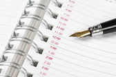 Kalender agenda — Stockfoto