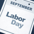 Stock Photo: Labor Day