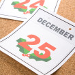 Calendar Day Christmas — Stock Photo #35361463