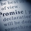 Promise — Stock Photo #38536921
