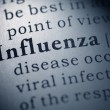Stock Photo: Flu and influenza