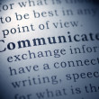 Communicate — Stock Photo #38537157