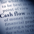 Stock Photo: Cash flow