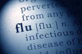 Flu and influenza — ストック写真