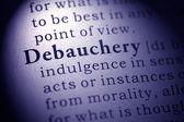 Debauchery — Foto Stock