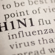 H1N1 flu — Stock Photo #38809799