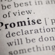 Stock Photo: Promise