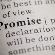 Promise — Stock Photo