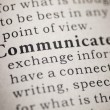 Communicate — Stock Photo #38810593