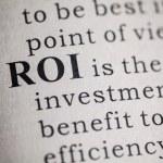Return on investment — Stock Photo