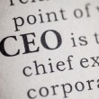 Chief executive officer — Foto de Stock