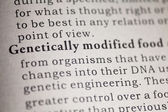 Genetically modified food — Stock Photo