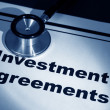 Stock Photo: Investment Agreement