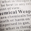 Stock Photo: Chemical Weapons