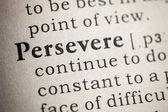 Perseverar — Foto Stock