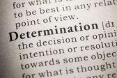 Determination — Stock Photo