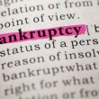 Stock Photo: Bankruptcy
