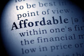 Affordable — Stock Photo