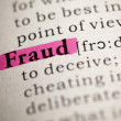 Fraud — Stock Photo #40574051