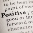 Stock Photo: Positive
