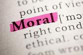 Moral — Stock Photo