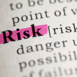 Stock Photo: Risk