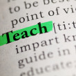 Teach — Stock Photo #40927513