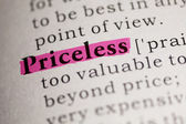 Priceless — Stock Photo