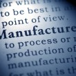 Stock Photo: Manufacture