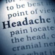 Headache — Stock Photo #41582345