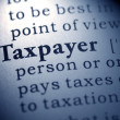 Taxpayer — Stockfoto #41582587