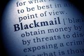 Blackmail — Stock Photo