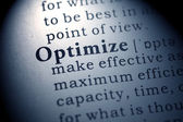 Optimize — Stock Photo
