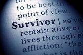 Survivor — Stock Photo